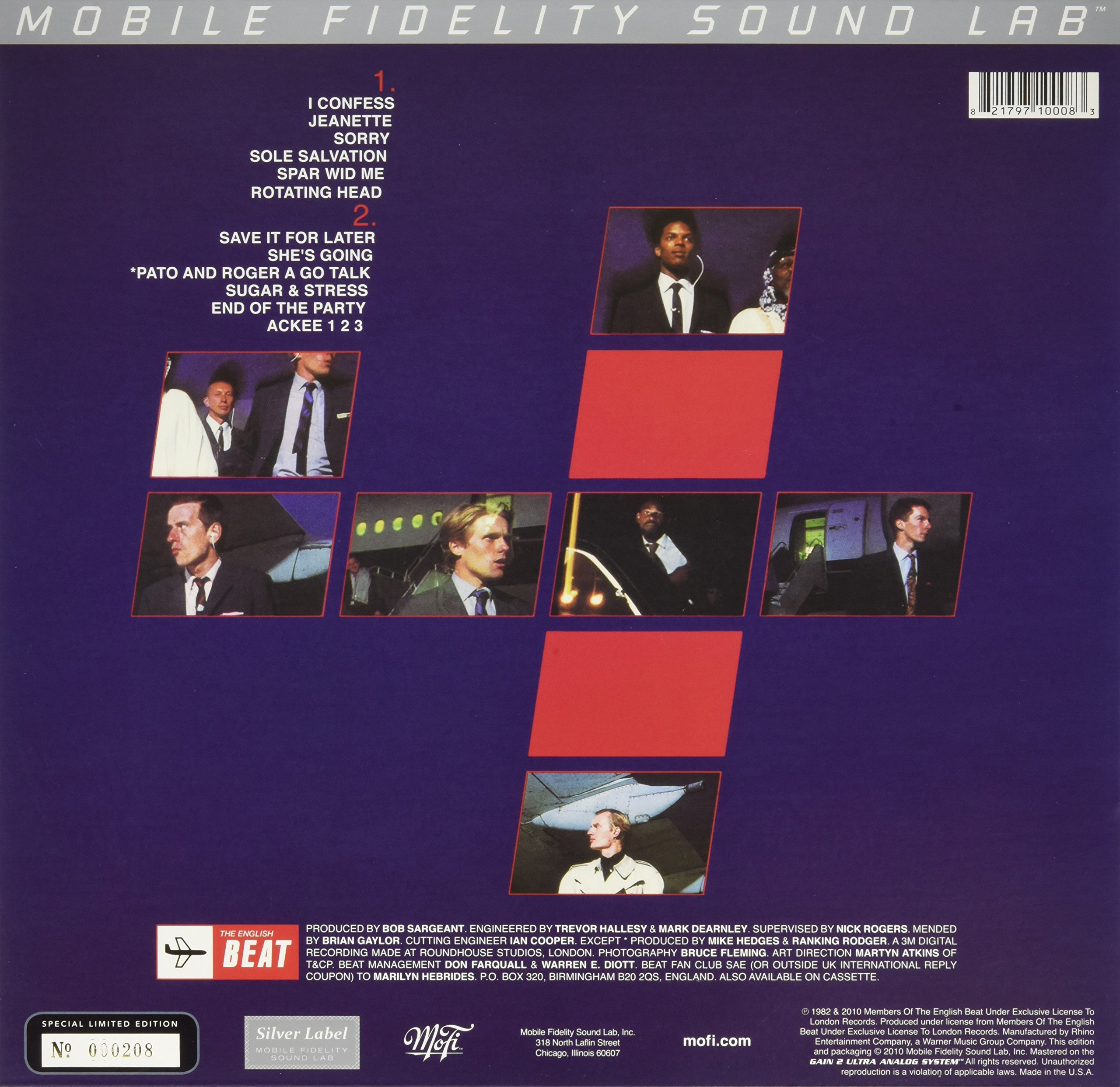 Special Beat Service by Mobile Fidelity