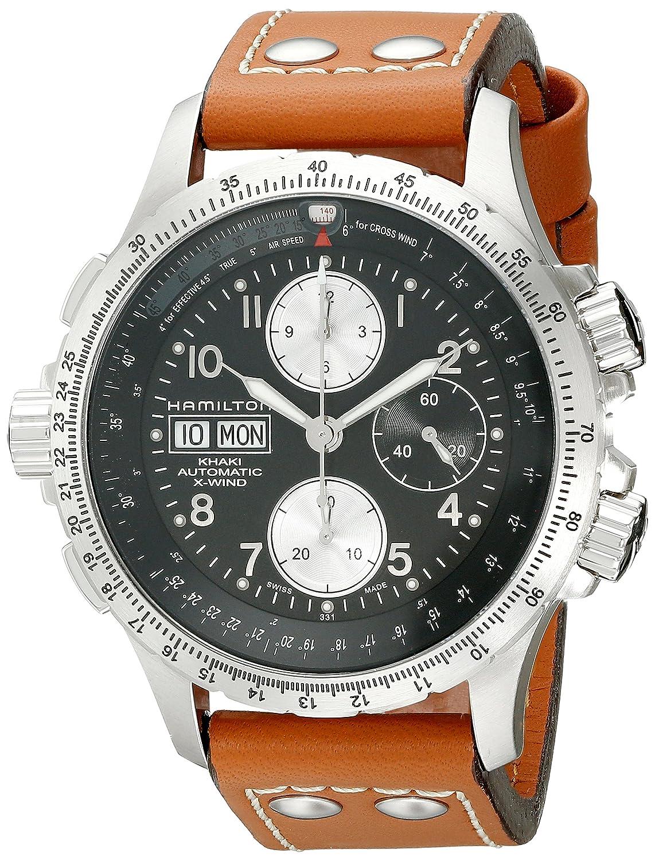 [ハミルトン]HAMILTON 腕時計 KHAKI AVIATION X-WIND H77616533 メンズ 日本未発売 米国からの直輸入品 B000VDEWXC