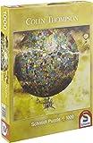 Schmidt Spiele 59400 - Colin Thompson, Quadratpuzzle, Phantastische Ballonfahrt, 1.000 Teile
