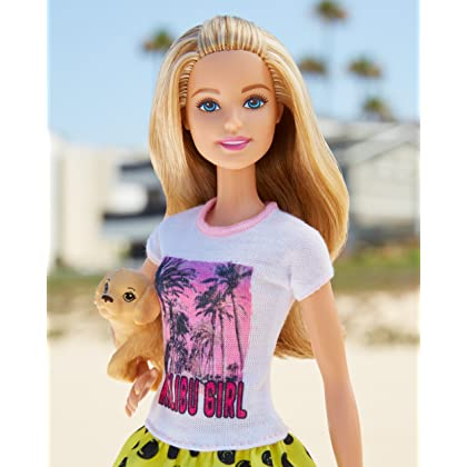 Barbie Great Puppy Adventure Barbie Doll