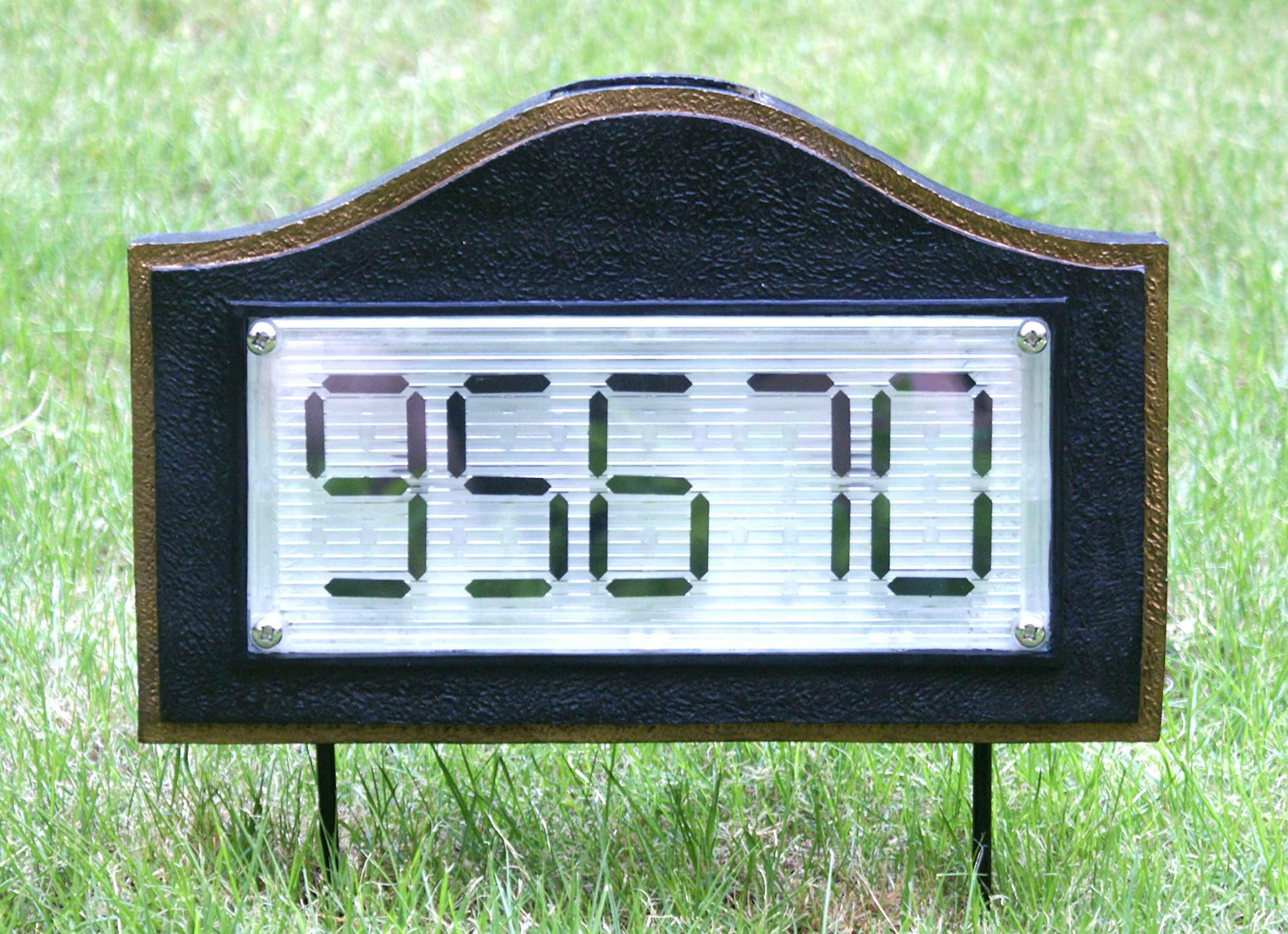 GEMART Solar Powered House Number Address Signs (Arch)