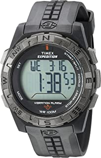 Amazon.com  Timex Men s TW4B02500 Expedition Grid Shock Black Resin ... df985fbb1d