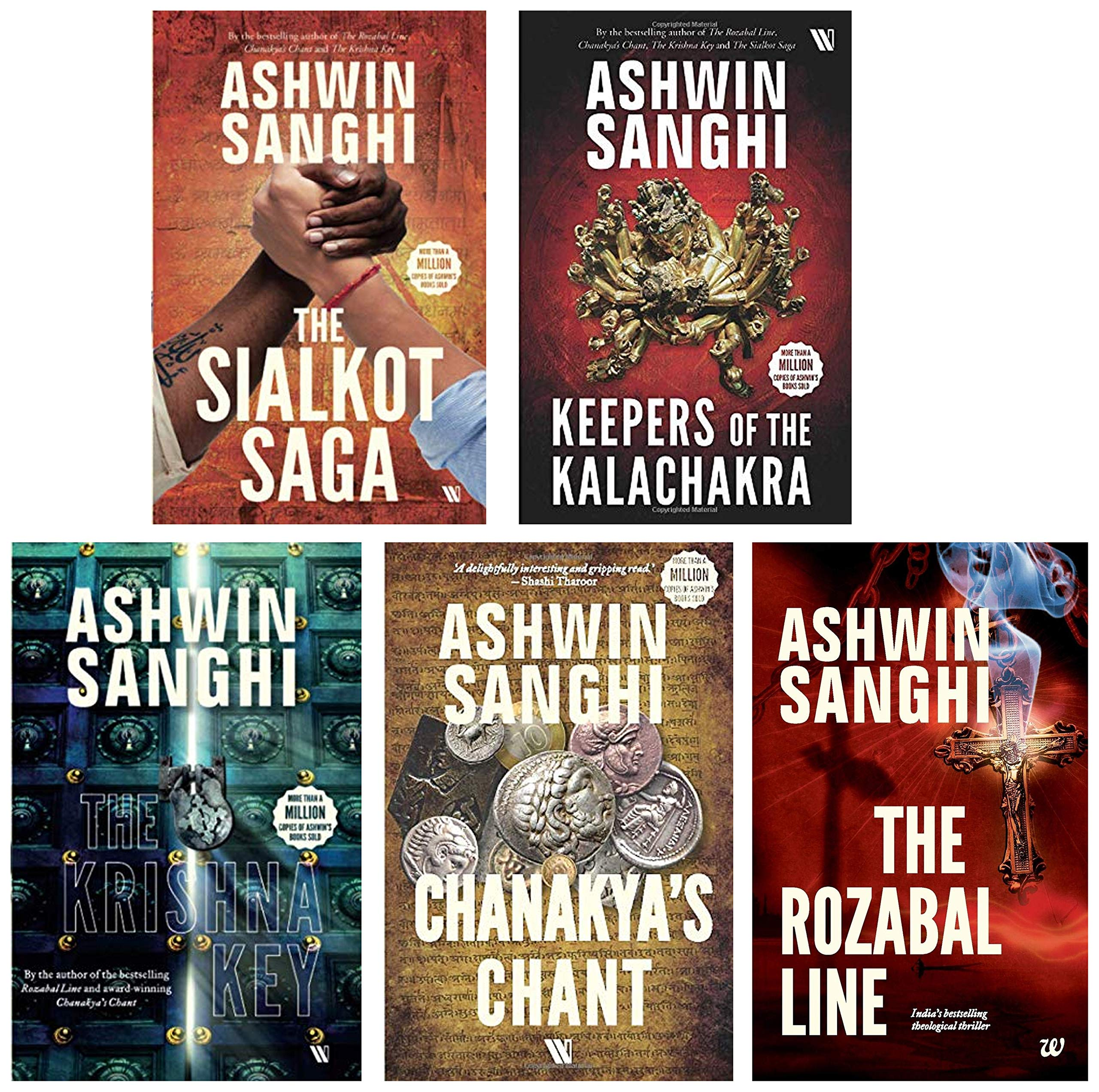 Buy Bharat Series by Ashwin Sanghi (Set of 5 books) Book Online at ...