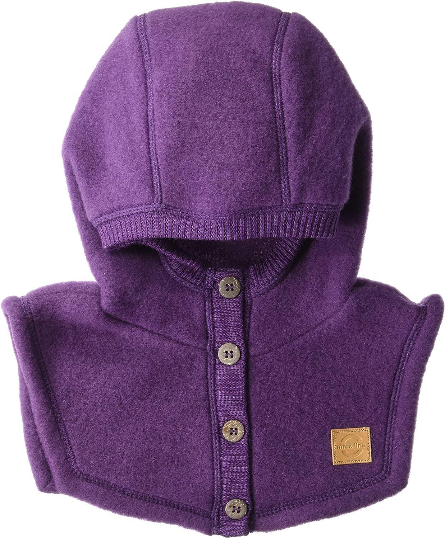 Melton Boys Wool Hat with Full-Neck Closure MIKK-Line
