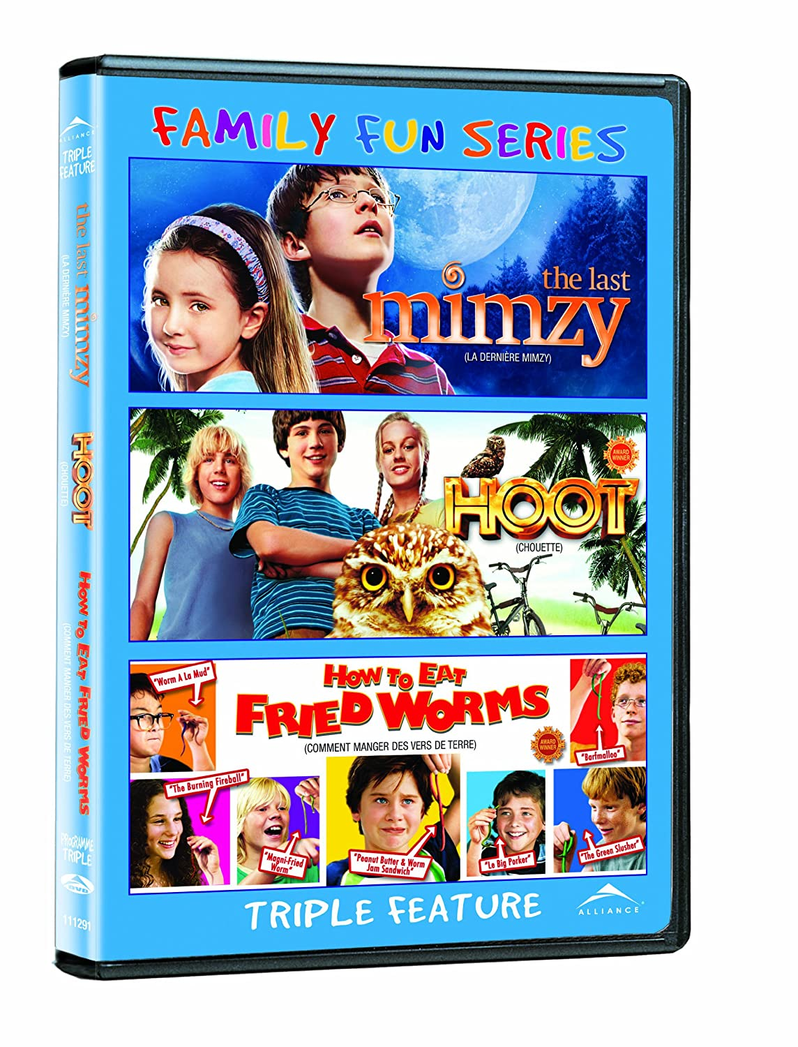 How To Eat Fried Worms (widescreen Family Fun Series): Joely Richardson,  Logan