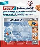 tesa Powerstrips 5 Crochets Déco transparent + 8 Languettes amovibles