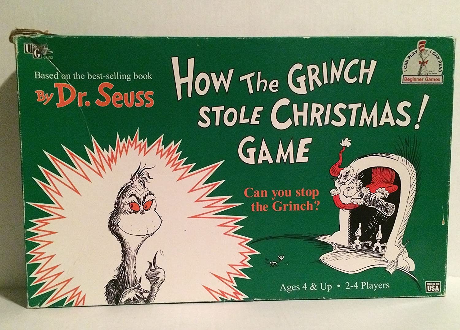 amazoncom how the grinch stole christmas game toys games - How The Grinch Stole Christmas Games
