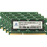"Adamanta 32GB (4x8GB) Apple Memory Upgrade for Late 2015 iMac 27"" DDR3L 1867Mhz PC3L-14900 SODIMM 2Rx8 CL13 1.35v RAM"