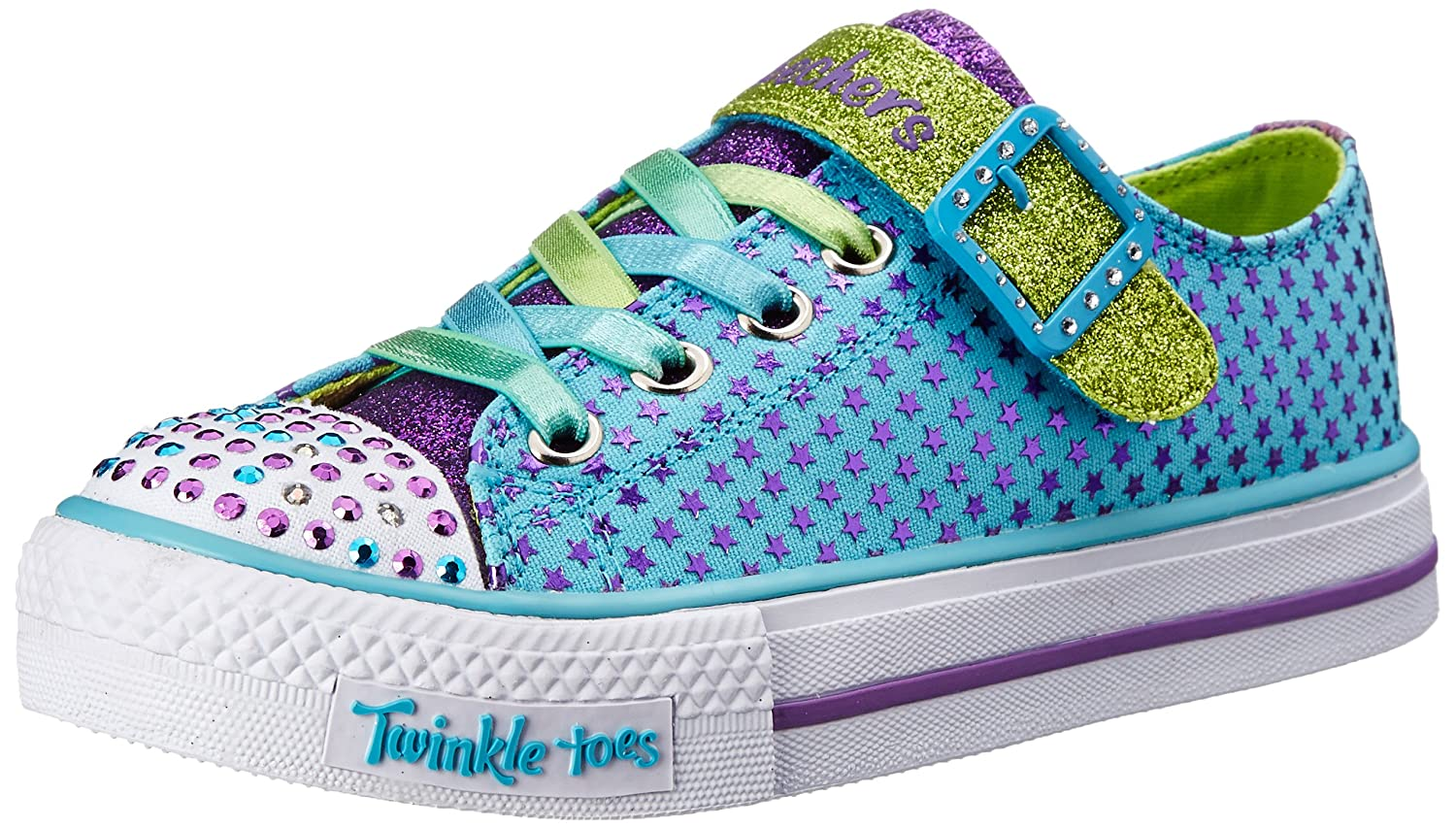 Amazoncom Skechers Kids Twinkle Toes Mysticals Light Up Sneaker