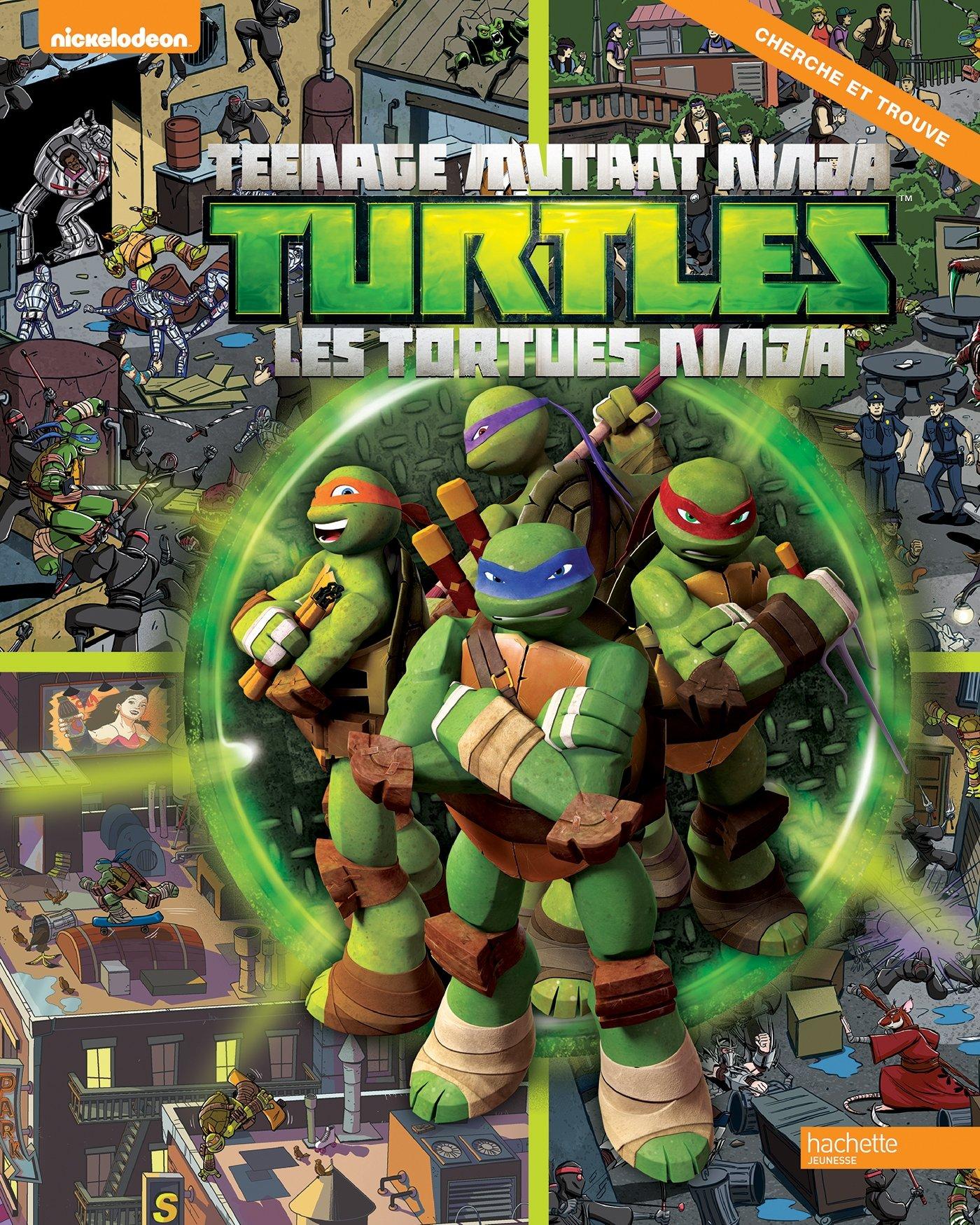 Tortues Ninja - Cherche et trouve: 9782013991056: Amazon.com ...