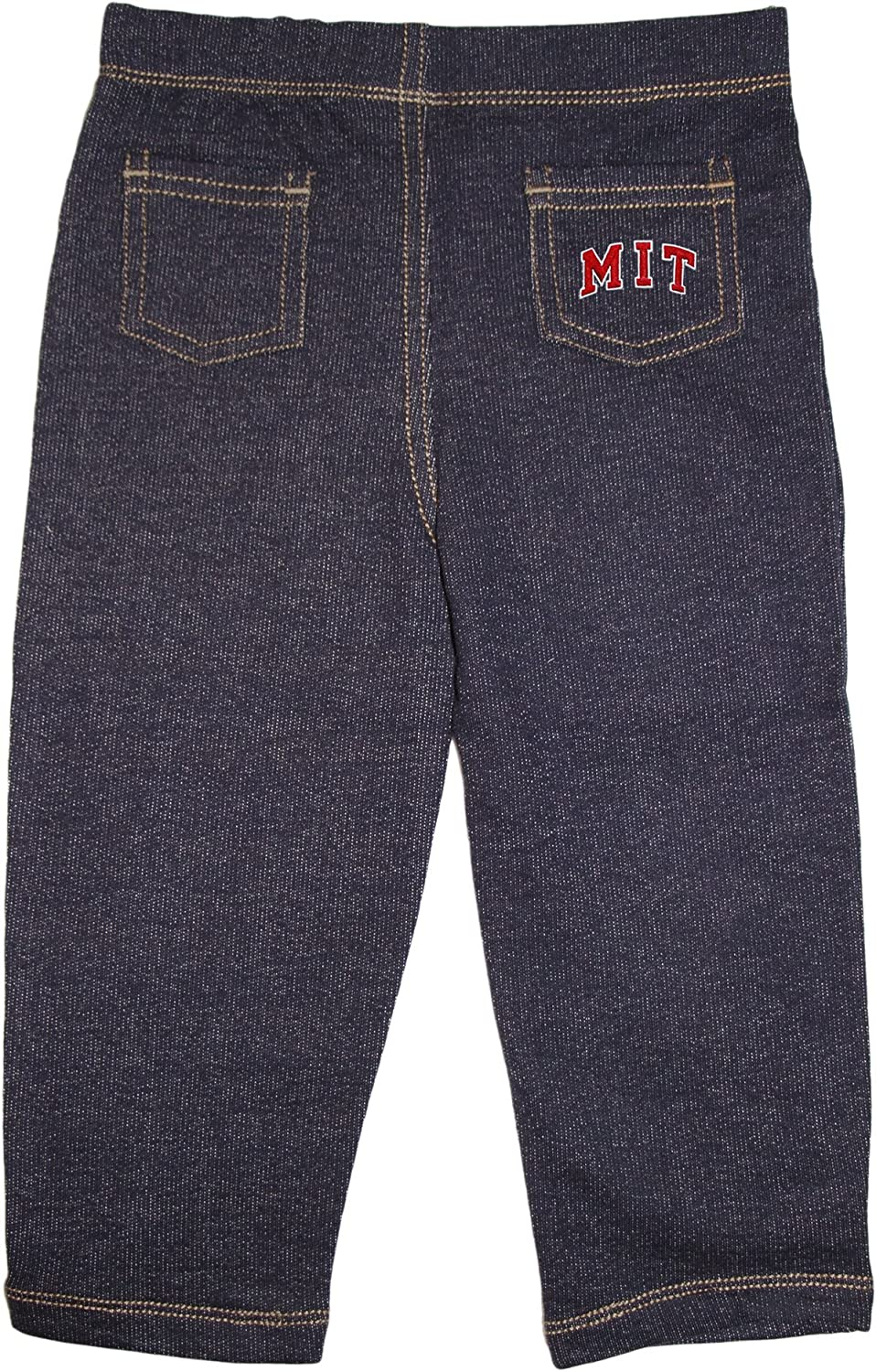 Creative Knitwear Massachusetts Institute of Technology Arched MIT Denim Jeans