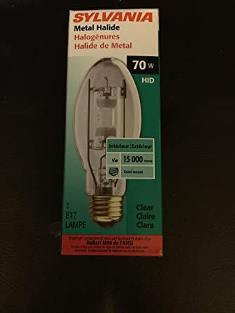70 Watt HID Metal Halide E17 Clear Bulb - High Intensity Discharge Bulbs - Amazon.com
