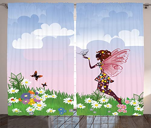 Ambesonne Princess Curtain