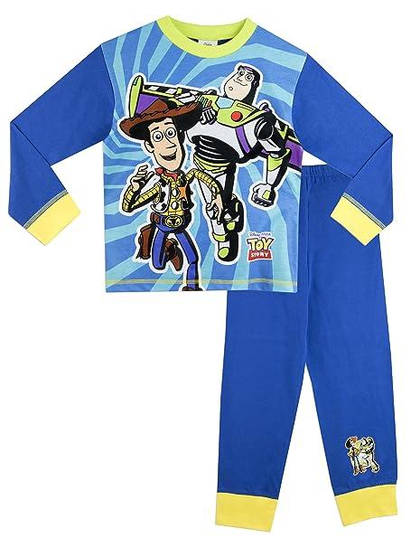 Disney Toy Story - Pijama para Niños - Woody y Buzz Lightyear - 5 a 6