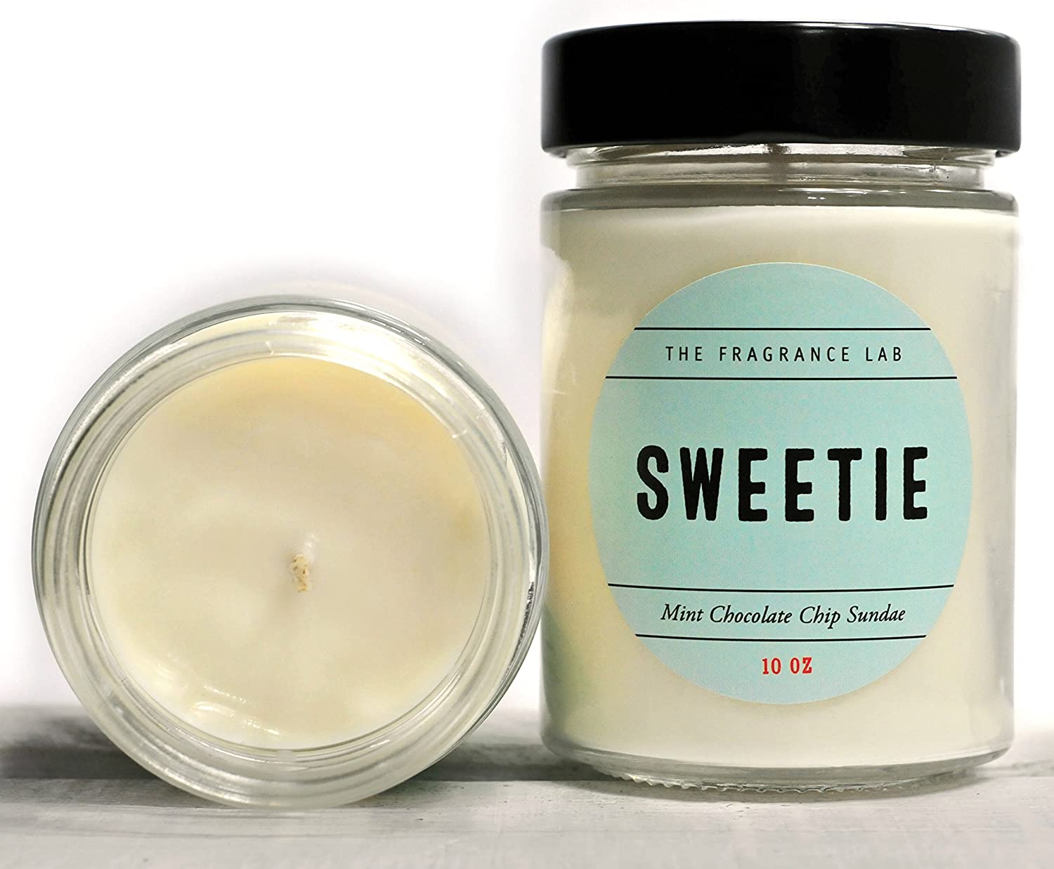 Soy Candles -Sweetie Mint Chocolate Chip Scented | The Fragrance Lab