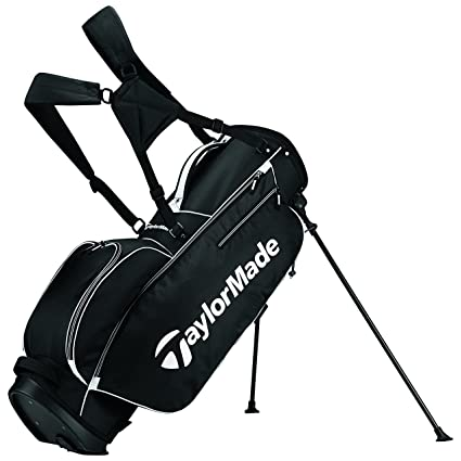 Taylormade Golf Bag >> Amazon Com Taylormade 2017 Tm 5 0 Stand Golf Bag Black White