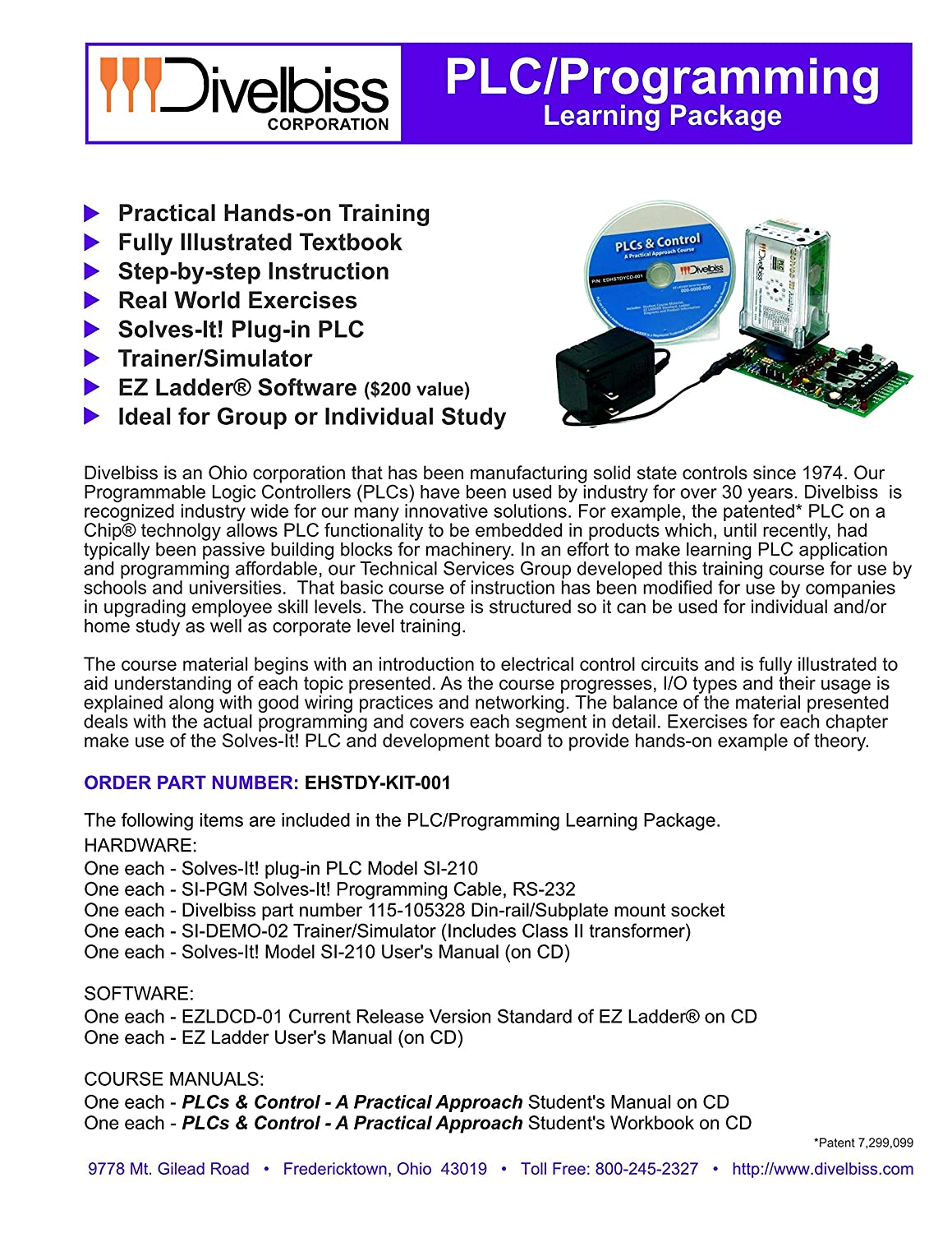 Plc Study Course Student Kit High Voltage Yard Training Simulator