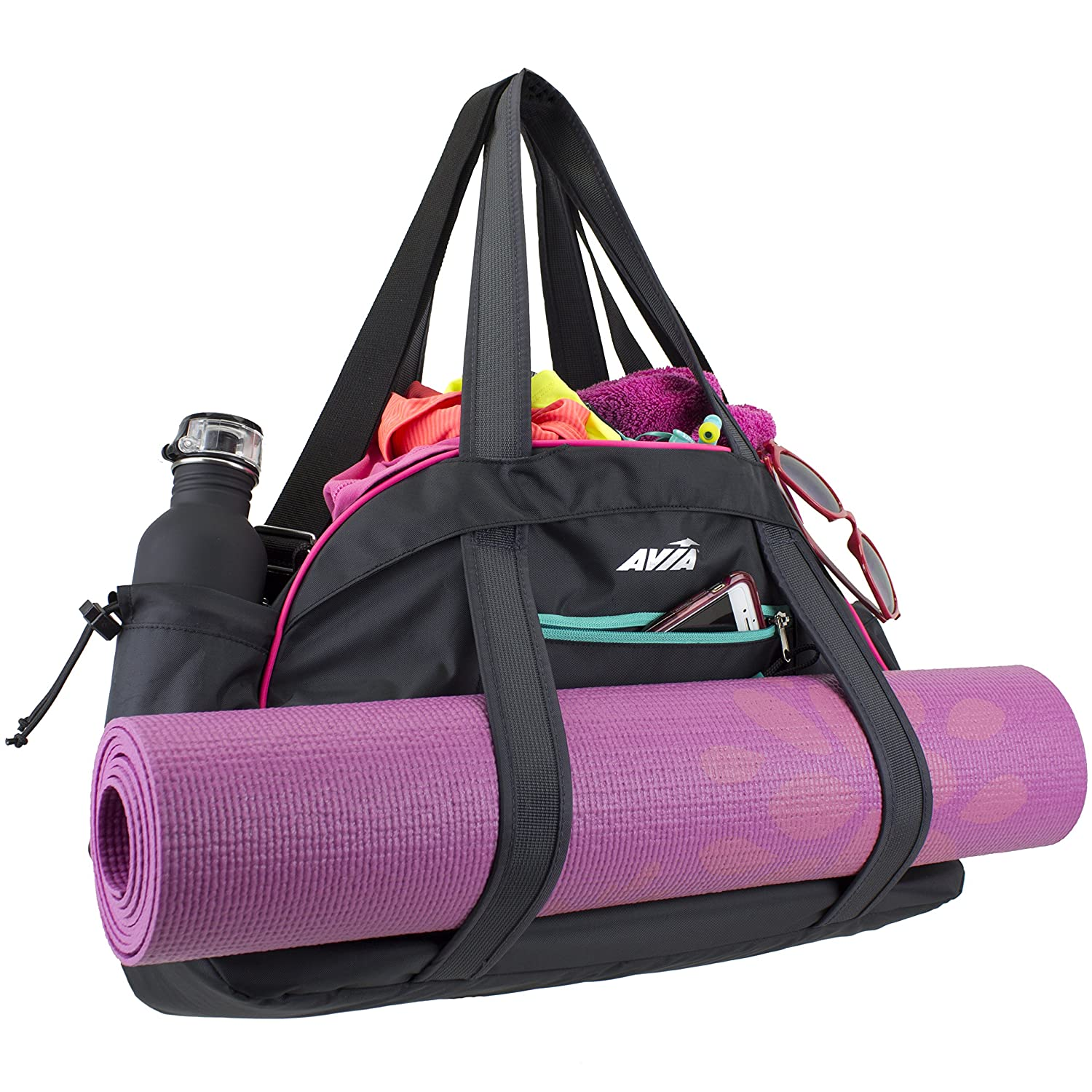 glossy holder when getter our gym mat glow hit you accented the yoga with pin bag a bagsyoga matsthe bagsgym laundry be