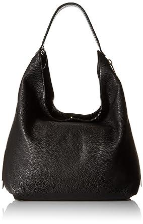 b197cc201ba Amazon.com: Rebecca Minkoff Bryn Double Zip Hobo, Black: Clothing
