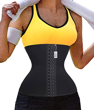 34051420660 Image Unavailable. Image not available for. Color  Gotoly Running Fitness  Slimming Body Shaper Belly Waist Trainer Training Women ...