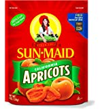 Sun Maid California Apricots, 6-Ounce Pouches (Pack of 4)