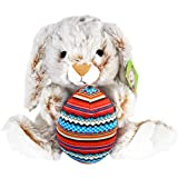 KINREX Bunny Rabbit Plush - Large and Soft Toy - 11.81 inches - Great Birthday Stuffers - Gift for Boys, Girls, Teens, Toddlers and Babies