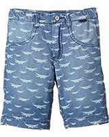 TOM TAILOR Kids - ligth denim bermuda crocodil/504, Pantaloncini per bambini e ragazzi
