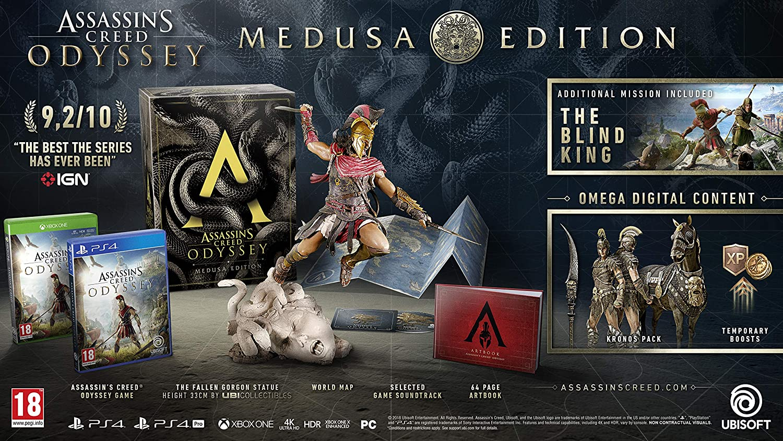Assassins Creed Odyssey Medusa Edition (PS4): Amazon co uk