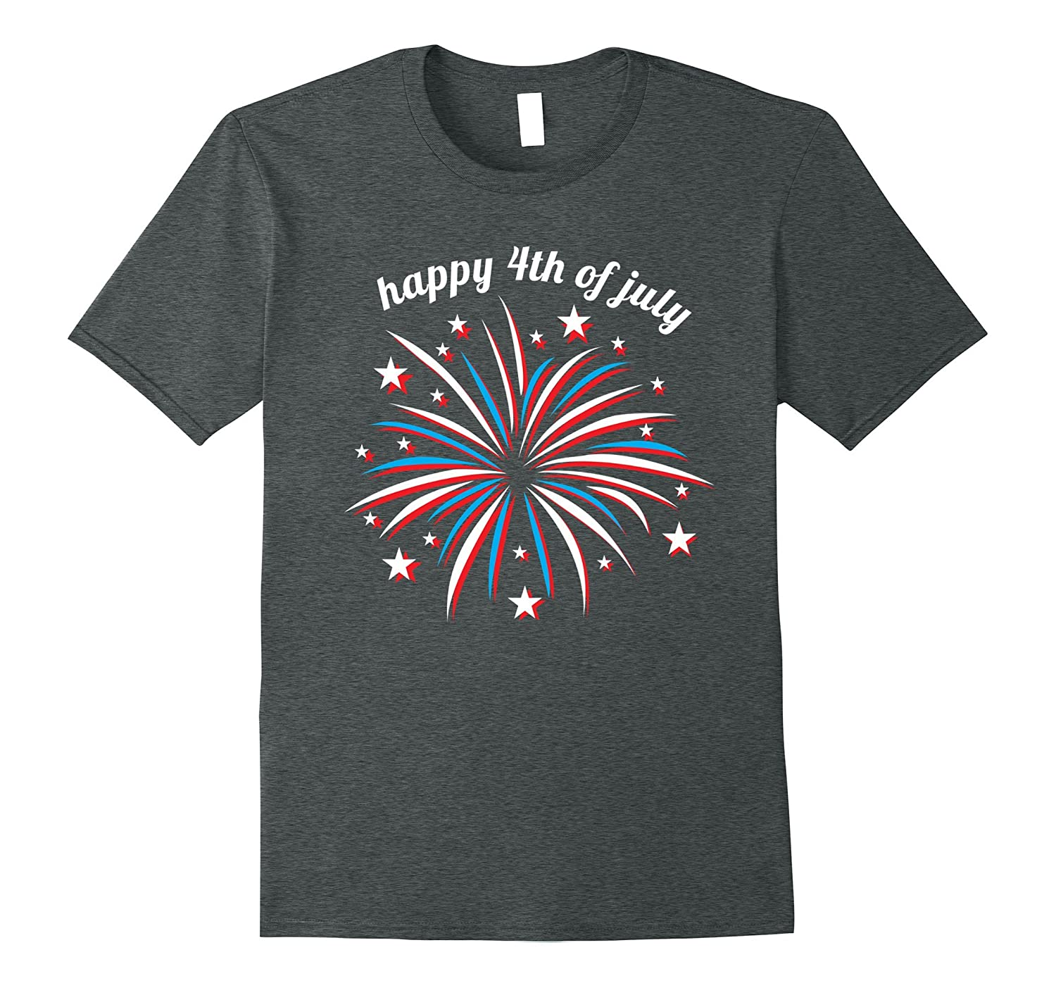 Cool Fireworks 4th of July Shirt for Women Kids Girls Family-Yolotee