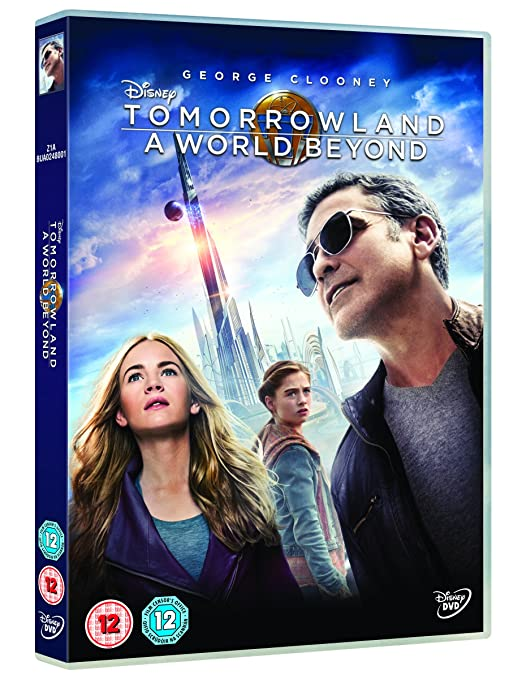 41c5fdcf18d1 Tomorrowland  A World Beyond  DVD   2015   Amazon.co.uk  George Clooney