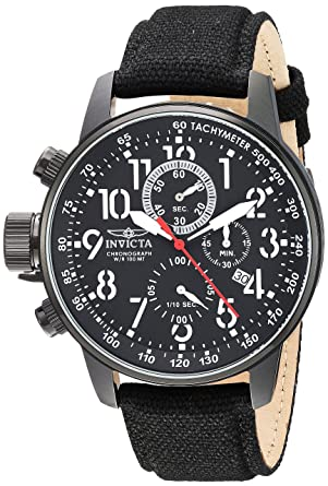 7cd469959cd Invicta Men s 1517 I Force Collection Left-Handed Stainless Steel Watch  with Cloth Strap