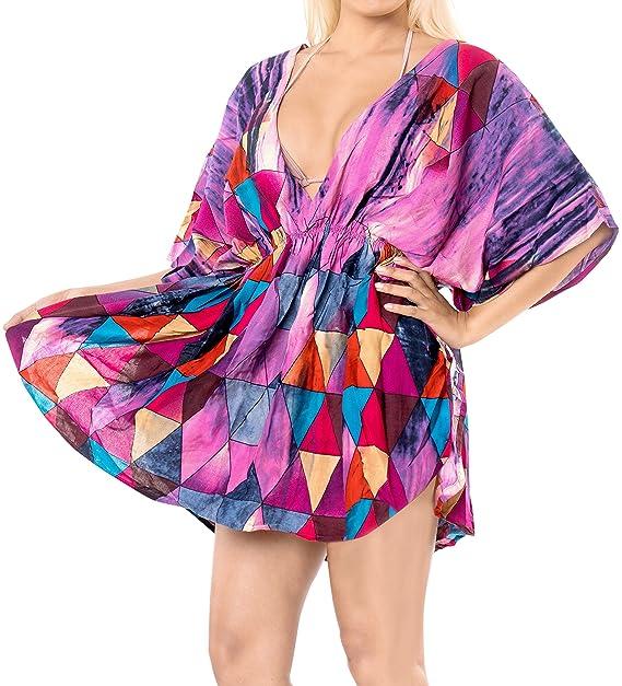 LA LEELA Kimono de la Playa de baño Bikini Traje de baño de Las ...
