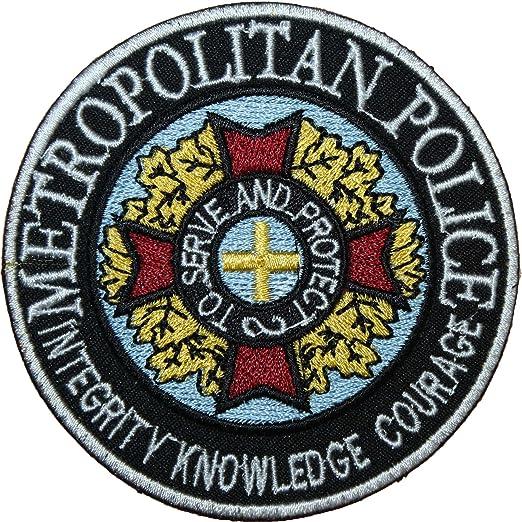 Academia de policía en la película Logo parche insignia con ...