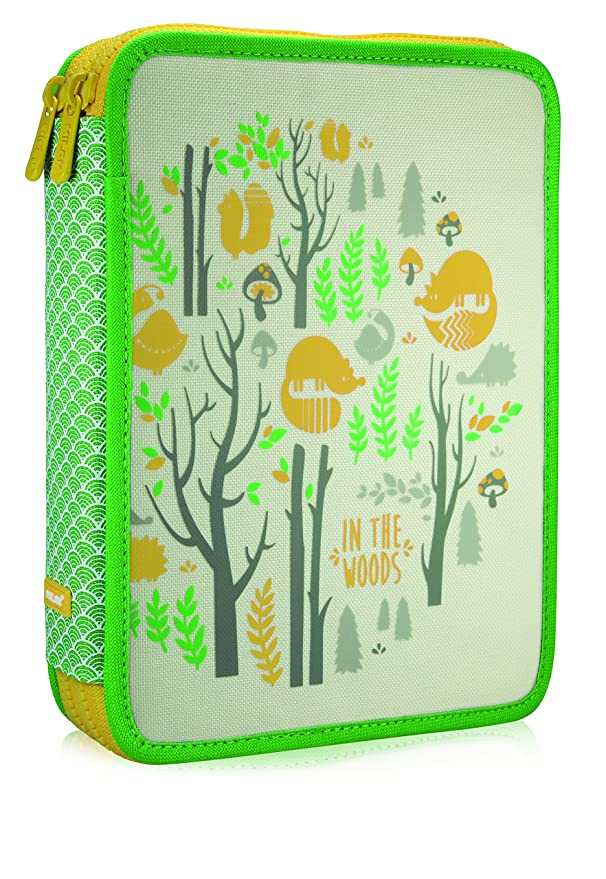 Amazon.com: Milan In The Woods Pencil Case, 25 cm, 2.5 ...