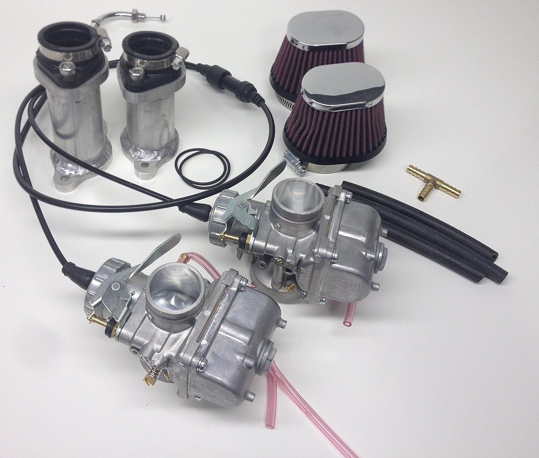 Honda CX 500 Schwimmer Satz Kunststoff Vergaser float set carburetor