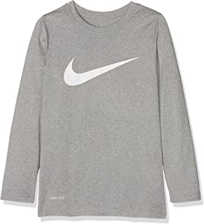 0ebcb07e Amazon.com: NIKE Big Boys Jordan Jumpman Dri-Fit Long-Sleeve T-Shirt ...
