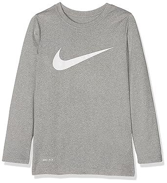 3de0329c Amazon.com: Nike Boy's Dry Training Long Sleeve T Shirt: Clothing