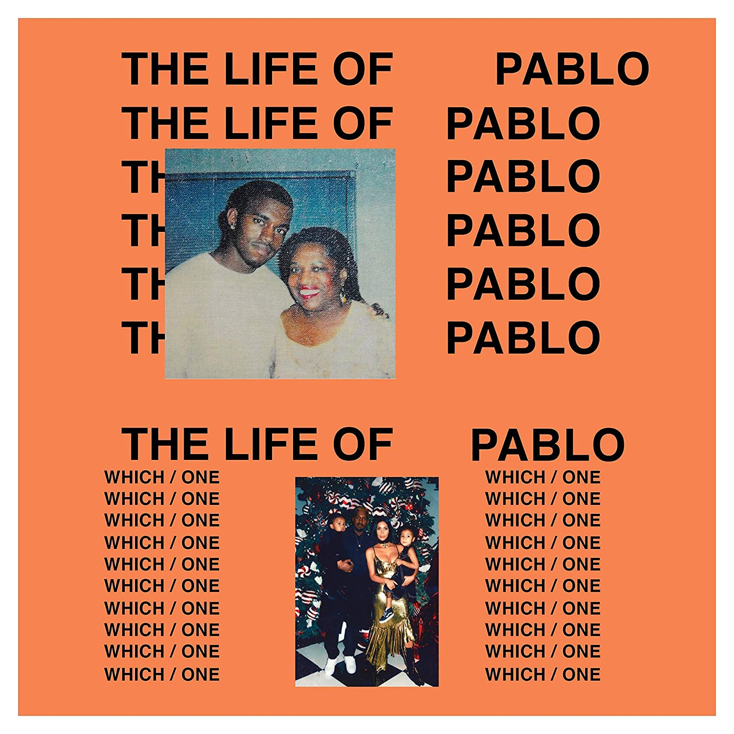 Kanye West The Life of Pablo Poster Print Wall Decor Gift