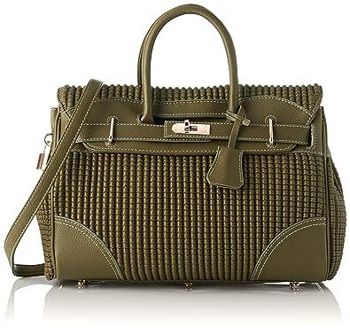 88c5983ff22 Mac Douglas Women s PYLA BRYAN Top-Handle Bag Green Vert (Kaki ...