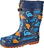 Clarks Boys Puddles B Shoes, Blue, 6.5 AU