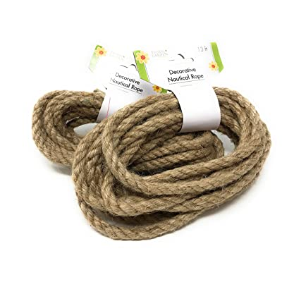 Floral Garden Decorative Nautical Rope, 26 Feet