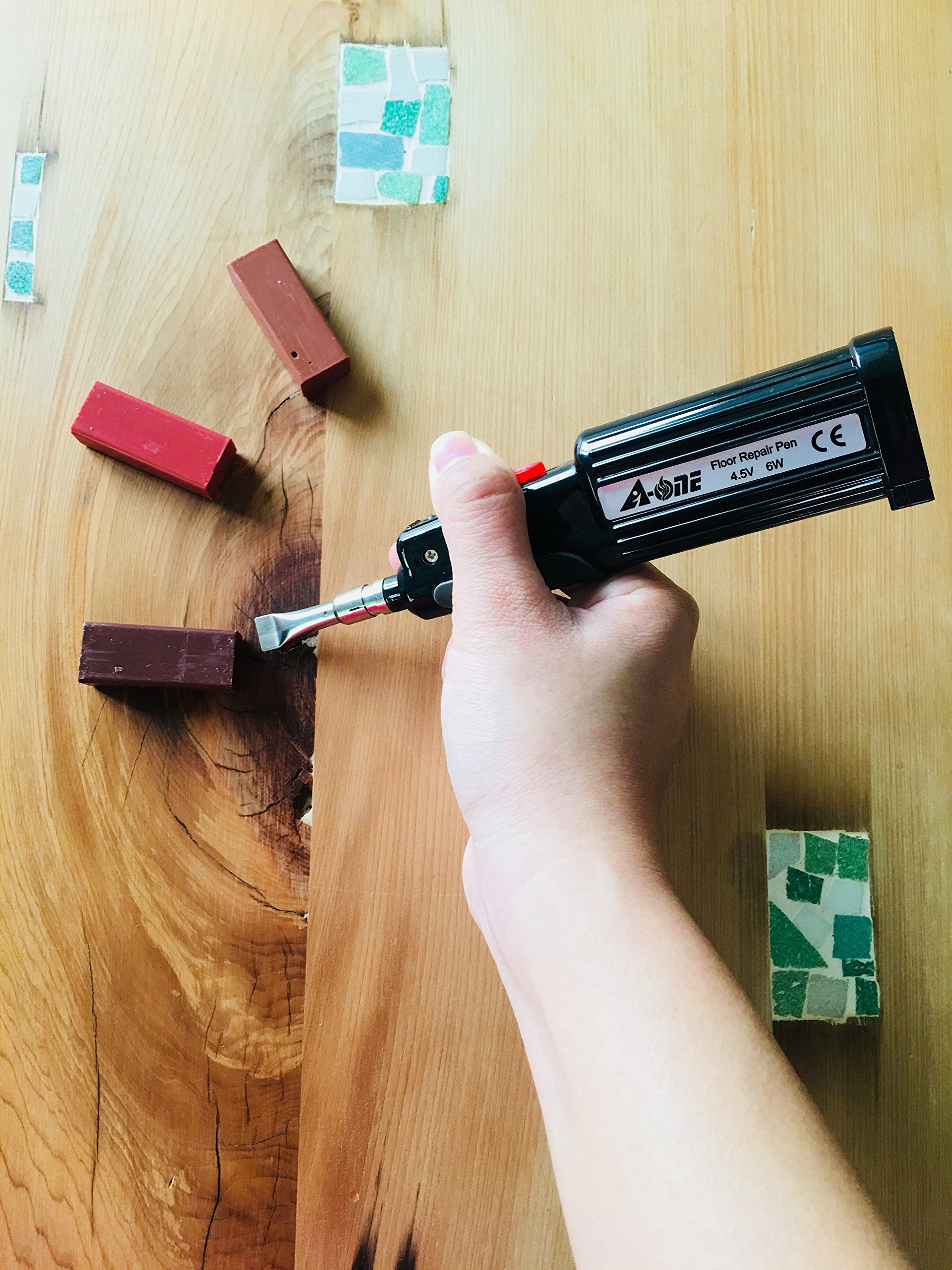 A-ONE Wood and Laminate Repair Kit-For Wood Furniture Flooring Repair by A-ONE (Image #7)