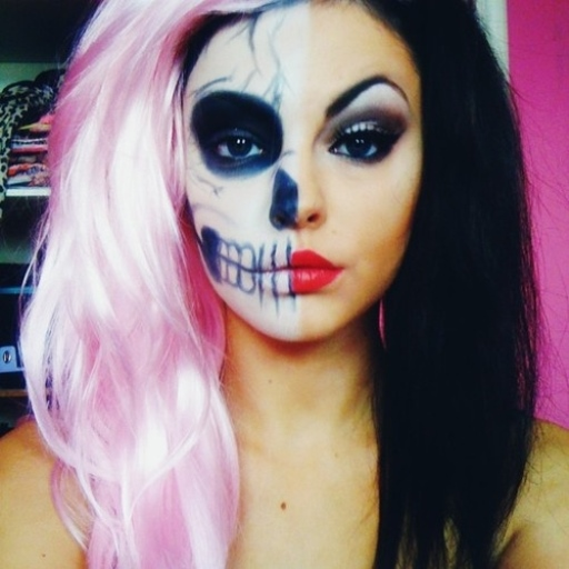Crazy Halloween Make Up LWP -