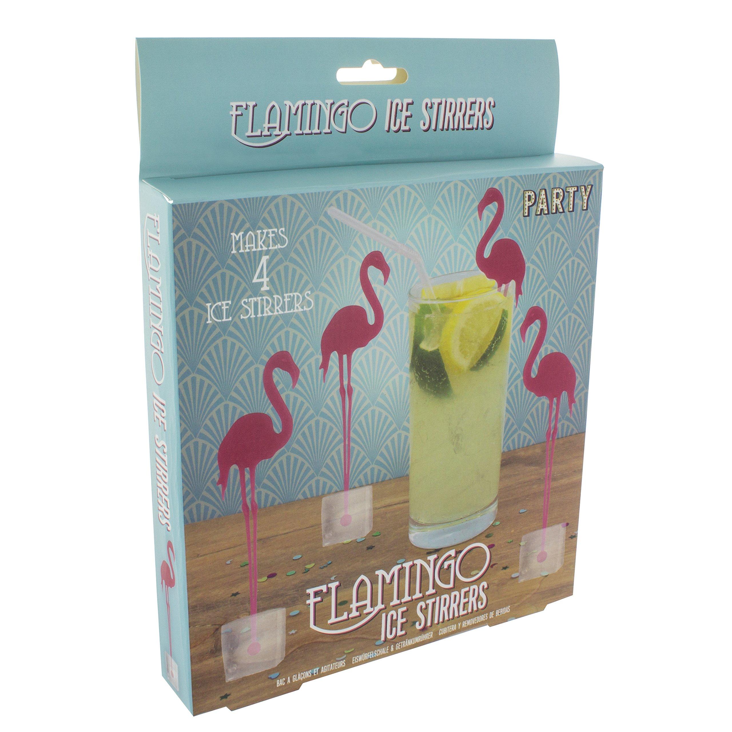 Paladone Flamingo Ice Drink Stirrers