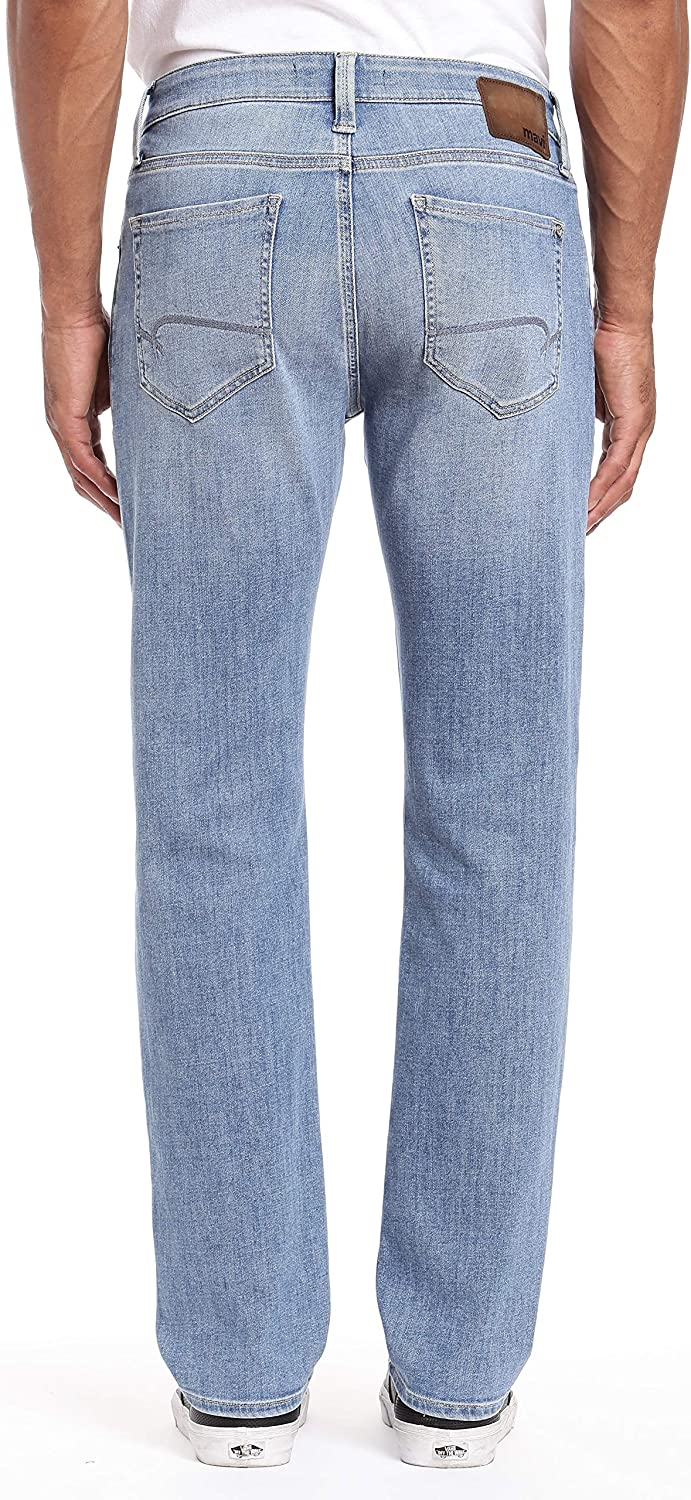 Mavi Mens Matt Relaxed Straight Leg