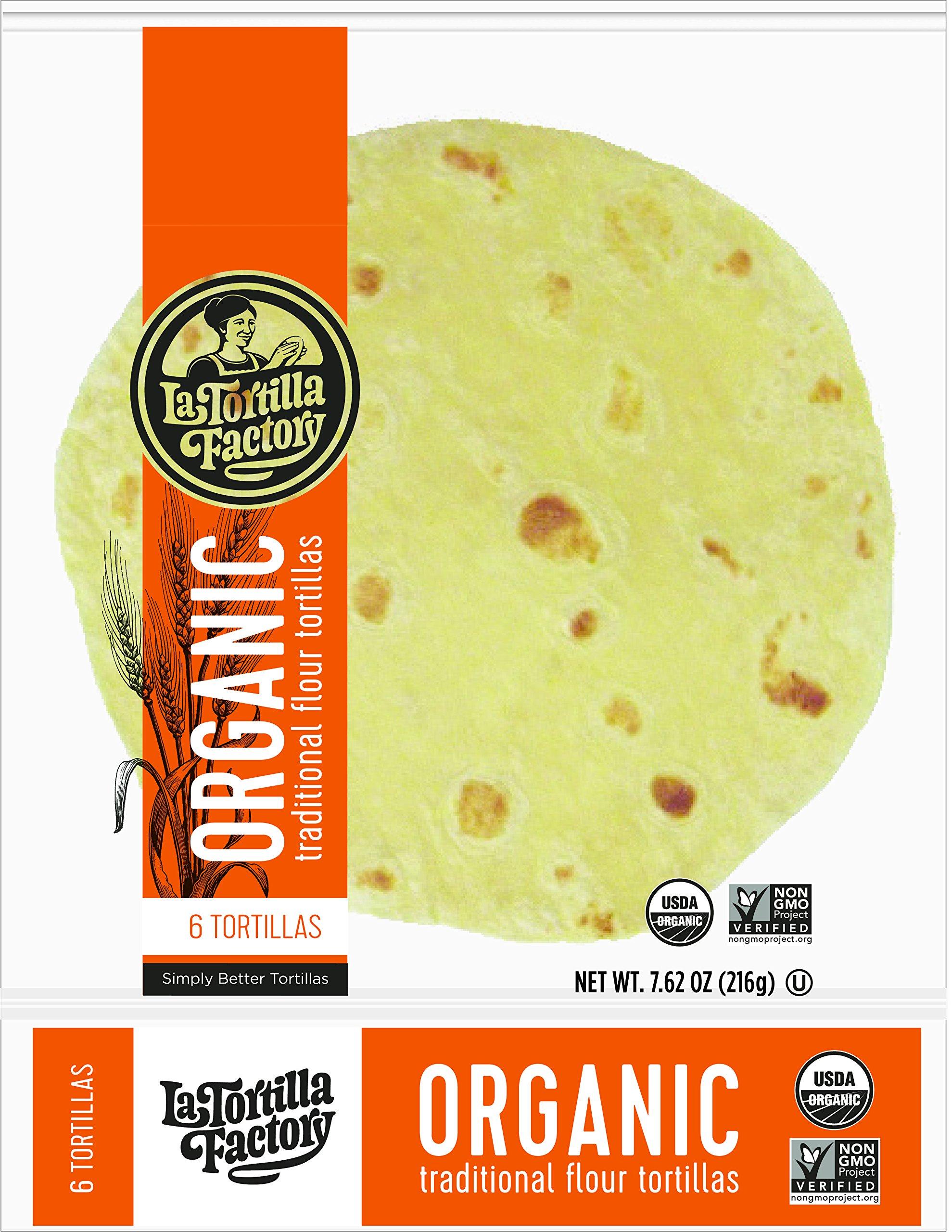 Amazon.com : La Tortilla Factory Corn & Wheat, Organic, 8