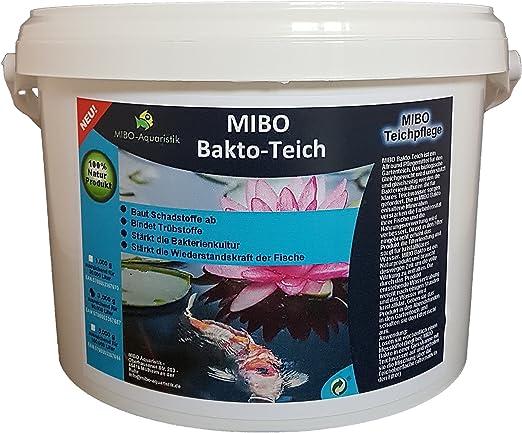 MIBO bakto Estanque 3 kg Estanque Cuidado de purificador de Agua ...