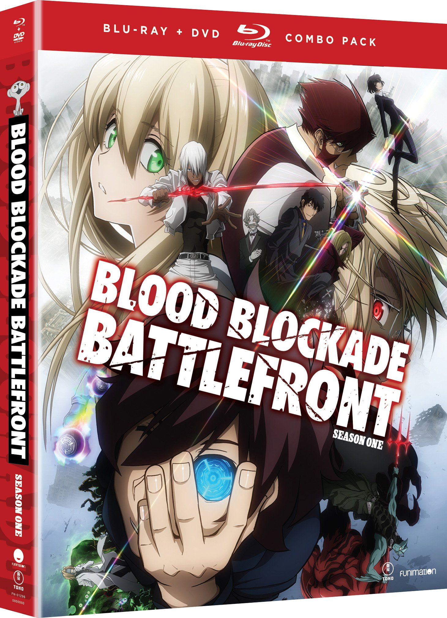 Blu-ray : Blood Blockade Battlefront: The Complete Series (With DVD, Boxed Set, 4 Disc)