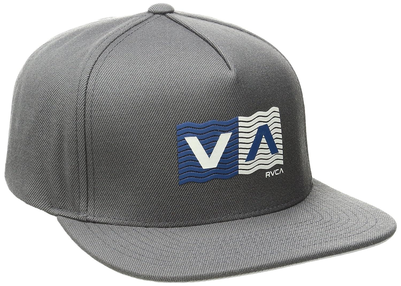 quality design aba6e d61b8 RVCA Men s Wave Box Snapback Hat, Smoke, One Size  Amazon.co.uk  Clothing