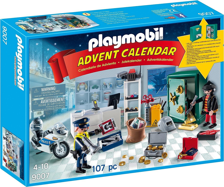 PLAYMOBIL - Calendario de adviento Robo en la joyería (9007 ...